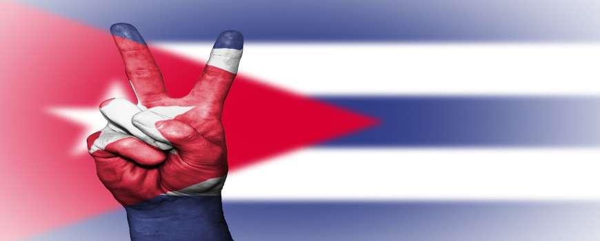 Visto Cuba - Bandiera Pace
