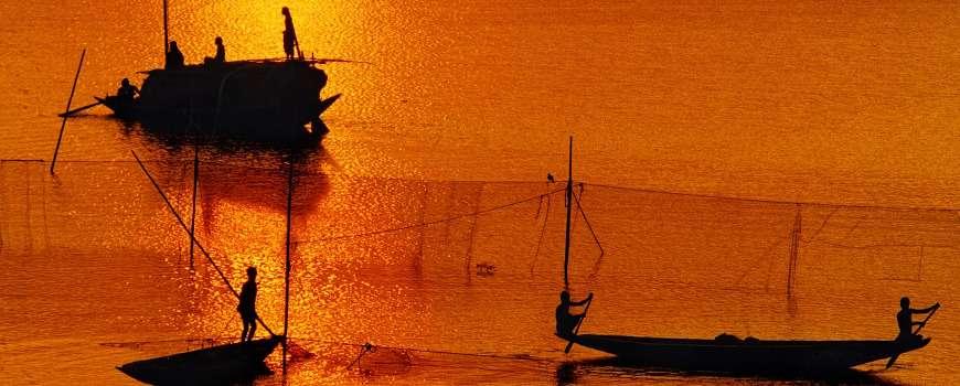 Visto Bangladesh - Pesca sul Fiume