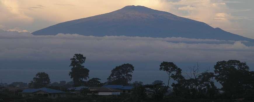 Visto Camerun - Panoramica monte Camerun