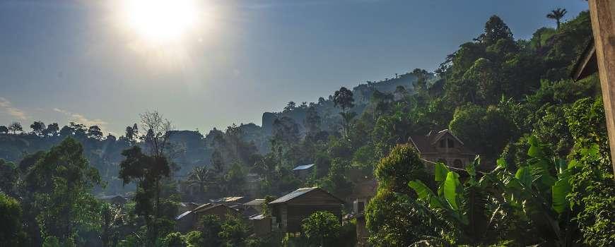 Visto Congo Rep. Dem. - Villaggio nella foresta