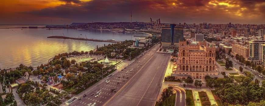 Visto Azerbaijan - Panoramica Baku