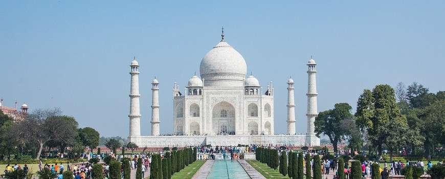 Visto India - Taj Mahal