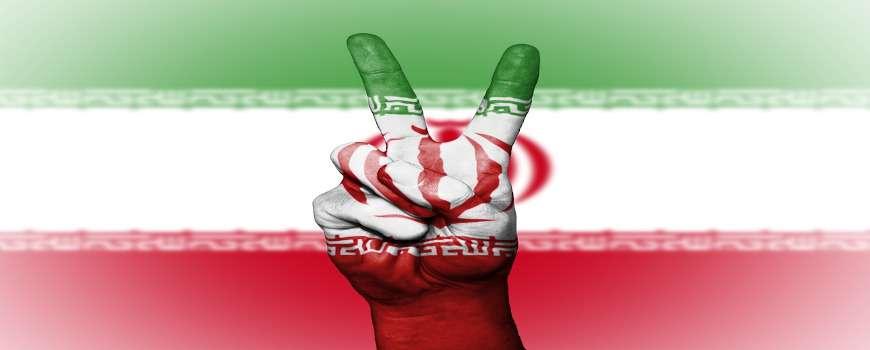 Visto Iran - Bandiera Pace