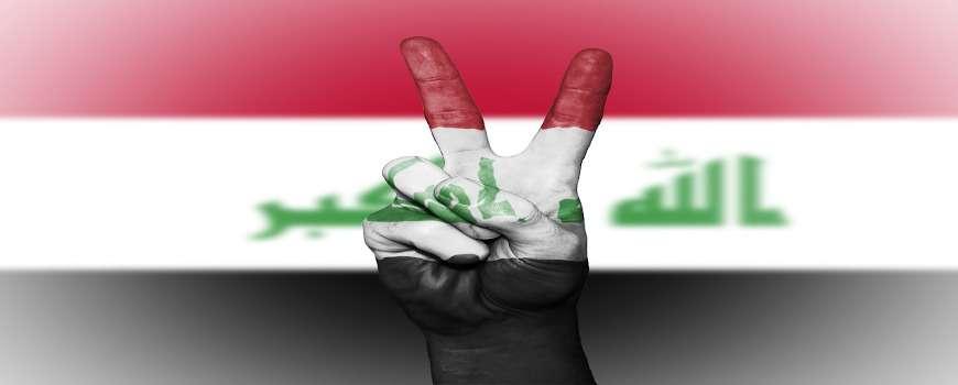 Visto Iraq - Bandiera Pace