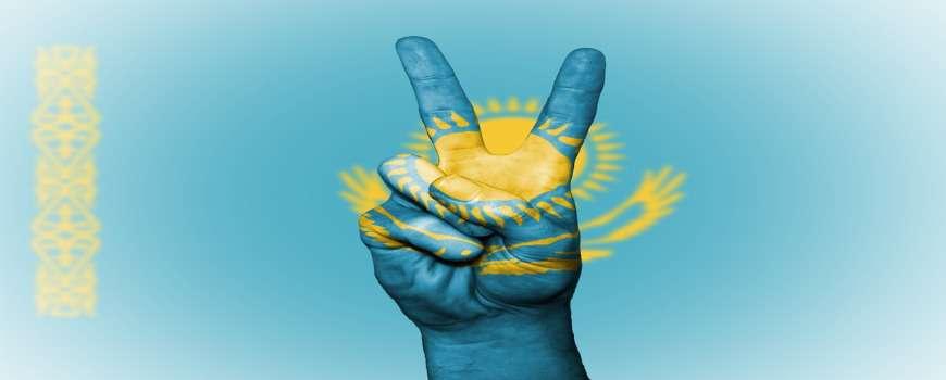 Visto Kazakistan - Bandiera Pace