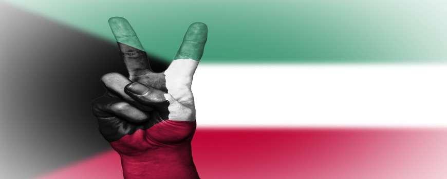 Visto Kuwait - Bandiera Pace