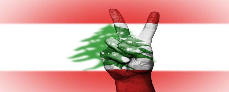 Visto Libano - Bandiera Pace