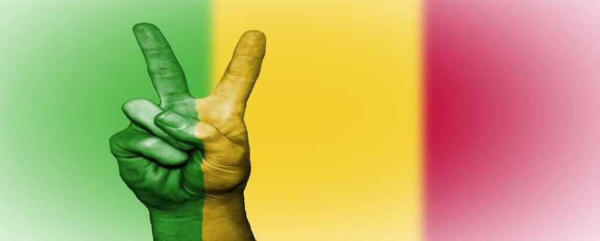 Visto Mali- Bandiera Pace