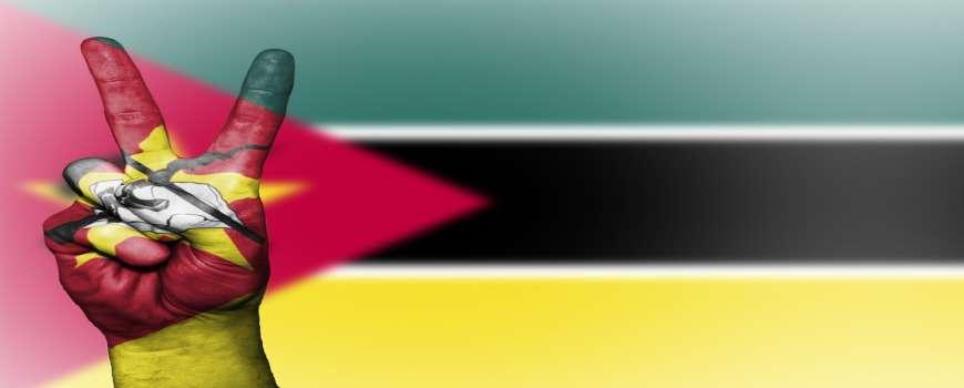 Visto Mozambico - Bandiera Pace