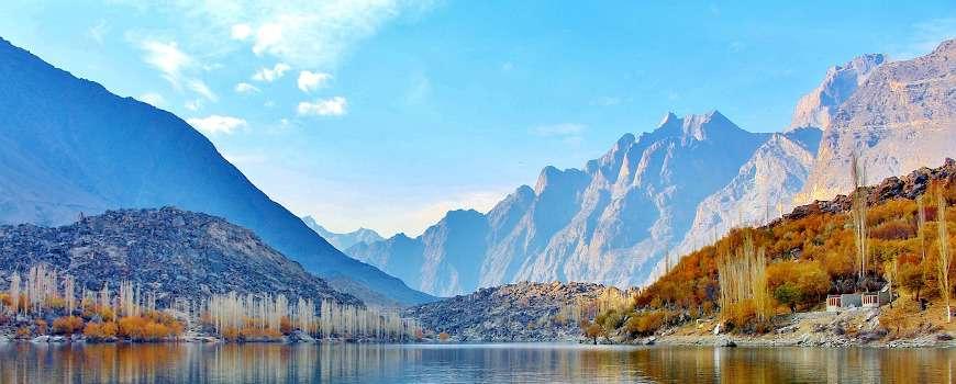 Visto Pakistan - Paesaggio montuoso