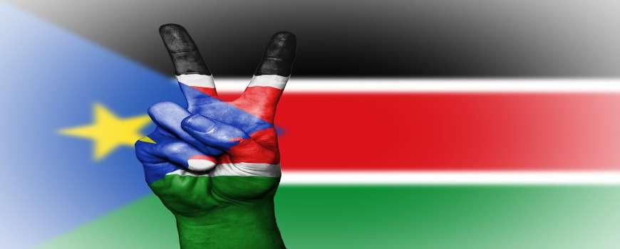 Visto Sud Sudan - Bandiera Pace