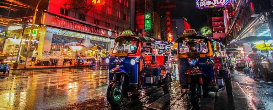 Visto Thailandia - Tuk Tuk