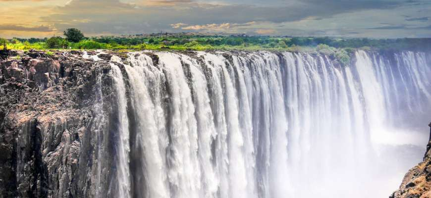 Visto Zimbabwe - Cascate Vittoria